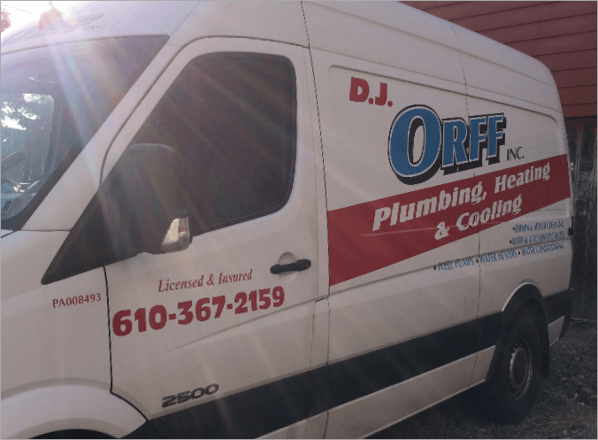 Contact Us - DJ Orff Plumbing, Heating and Cooling